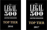 Legal 500 Awards